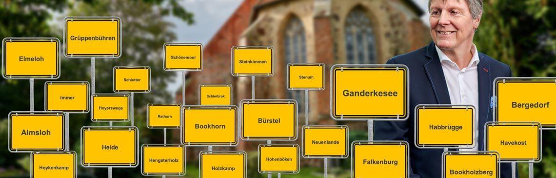 UWG Ganderkesee: Header