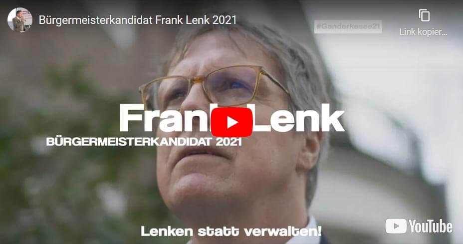 Lenken statt Verwalten - Interview mit Bürgermeister-Kandidat Frank Lenk